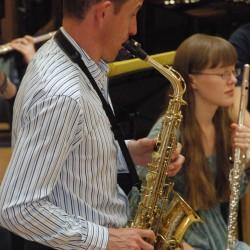 Adam Gorb Saxophone Concertino recording