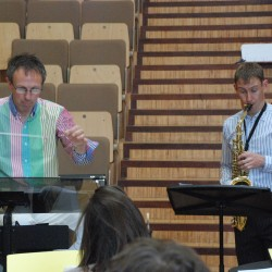 Adam Gorb Saxophone Concertino recording (n)